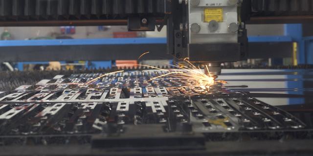 taglio laser, particolare